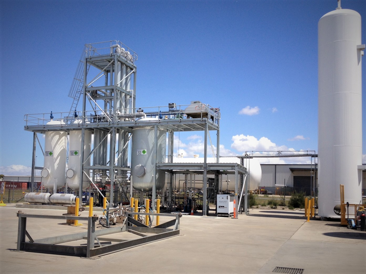 Gas Plant Access Tower and Platforms | A-Gas