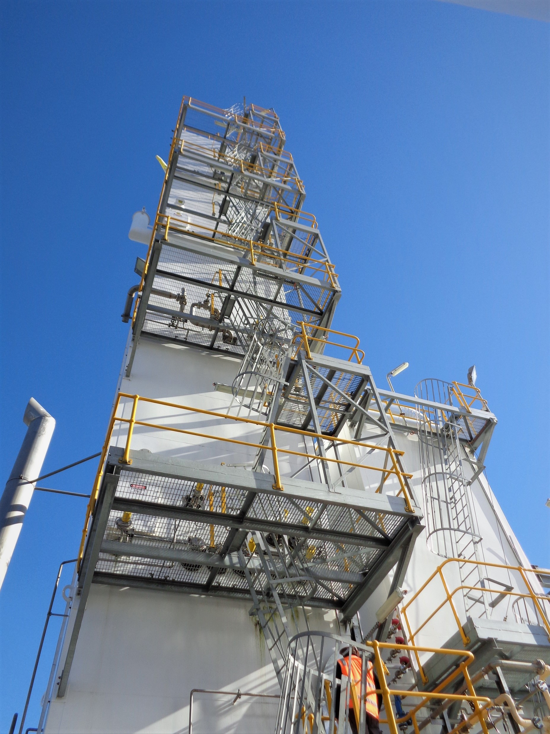 Access Platform and Stairs | Air Separation Plant | BOC